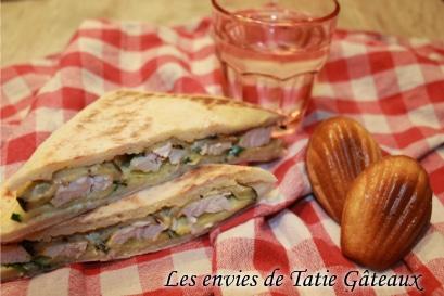Lesenviesdetatiegateaux - Sandwich et madeleine