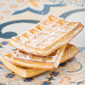 gaufre huile d'olive