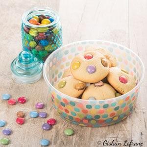 cookies smarties huile d'olive