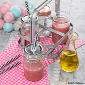 Gaspacho fraises huile d'olive