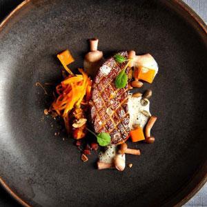 sebastien-sanjou-plat-foie-gras-huile-olive-restaurant-relais-moines