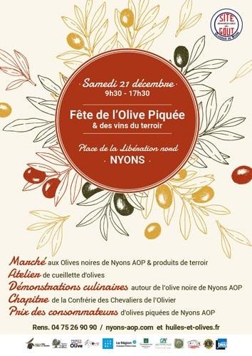 Fête de l'Olive Piquée 2019