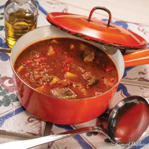 Recette de goulash à l'huile d'olive goût intense