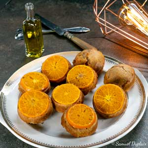 Recette de nonnettes clémentine huile d'olive goût à l'ancienne