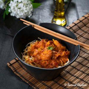 Recette Wok de crevettes thaï à l'huile d'olive de France