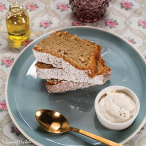 Gâteau moelleux vanille-huile d'olive