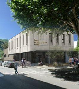 Projet Maison des Huiles d'olive et Olives de France à Nyons