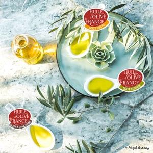 Les goûts des huiles d'olive de France