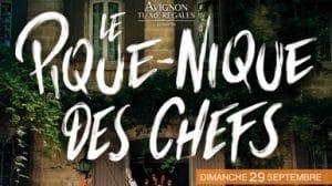 Pique nique des chefs à Avignon