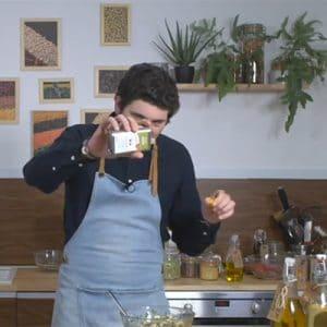 IDées recettes autour des huiles d'olive de France en vidéo