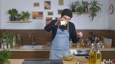Recettes en vidéo autour des huiles d'olive de france