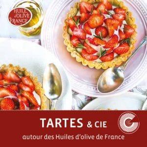 Livret recettes tartes à l'huile d'olive de France