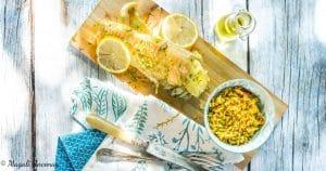 Recette poisson mariné aux notes ensoleillées huile d'olive goût subtil barbecue facebook