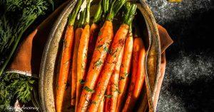 Recette carottes glaçées à l'orange huile d'olive goût subtil barbecue facebook