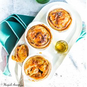 Recette tourte viande huile d'olive goût à l'ancienne pique-nique déjeuner