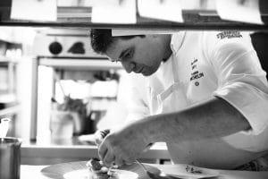 Damien Sanchez Portrait de chef