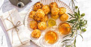 Chouquettes à l'huile d'olive