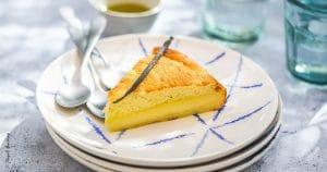Gâteau magique à la vanille et à l'huile d'olive