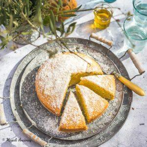 Gâteau noix de coco ananas huile d'olive