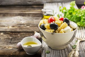 Salade de pâtes huile d'olive